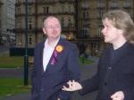BRUG Chair and UKIP Candidate in Urban Garden